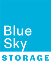 Logo Blue Sky Storage Salutations