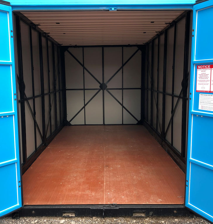 Portable Storage Units: During Home Restorations