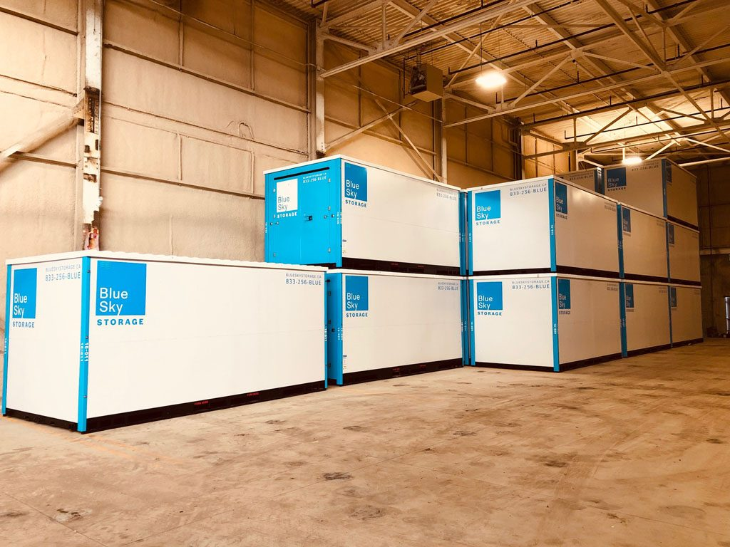 Storage Containers in The Warehouse