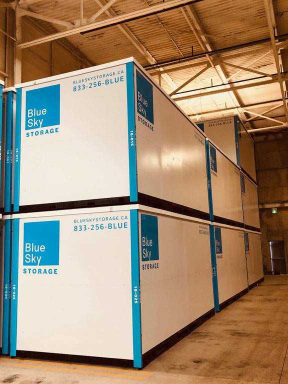 Photo of Inside Storage Containers