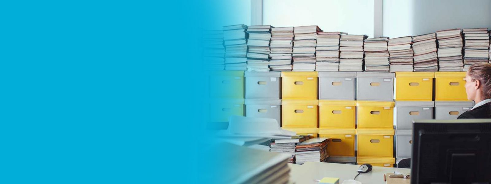 Business equipment and documents storage
